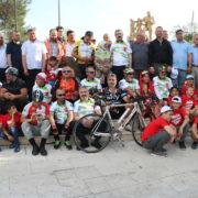 ÇİVRİL 3. BİSİKLET FESTİVALİ'NE 300 SPORCU KATILDI