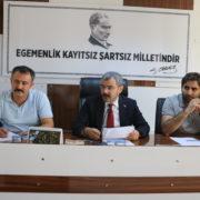 """Başkan Vural, """"BİZ KİMSENİN GÖZÜNÜ BAĞLAMIŞ DEĞİLİZ"""""""