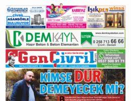 Genç Çivril Gazetesi 203. Sayı