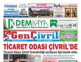 Genç Çivril Gazetesi 213. Sayı