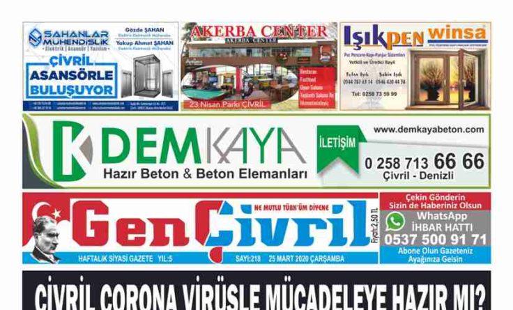 Genç Çivril Gazetesi 218. Sayı