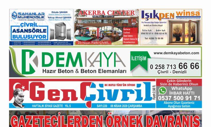 Genç Çivril Gazetesi 220. Sayı