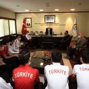 """Başkan Zolan: """"Daha güzel başarılara birlikte ulaşacağız"""""""
