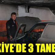 TÜRKİYE'DE 3 TANE VAR!