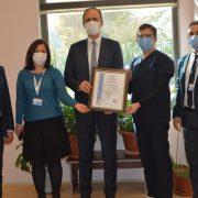 PAÜ Hastanesi Kalite Sistemi Belgesi Gözetim Denetimini Başarıyla Geçti