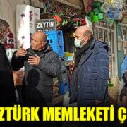 YASİN ÖZTÜRK MEMLEKETİ ÇİVRİL'DE ESNAF ZİYARETİ YAPTI