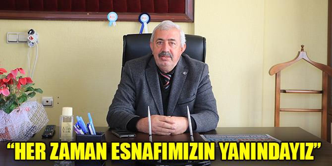 """""""SALGIN BİTİNCE ESNAF ZİYARETLERİNE DEVAM EDECEĞİZ"""""""