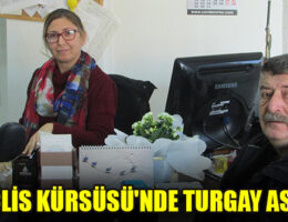 MECLİS KÜRSÜSÜ'NDE TURGAY ASLAN