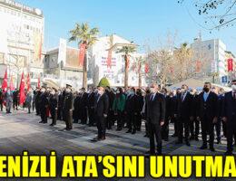Büyük Önder Atatürk'ün Denizli'ye gelişinin 90. yılı anıldı