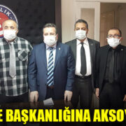 TSS ŞUBE BAŞKANLIĞINA AKSOY SEÇİLDİ