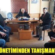 ATAŞ VE YÖNETİMİNDEN TANIŞMAN'A ZİYARET